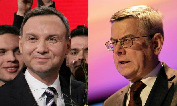 Andrzej Duda   Tomasz Nałęcz