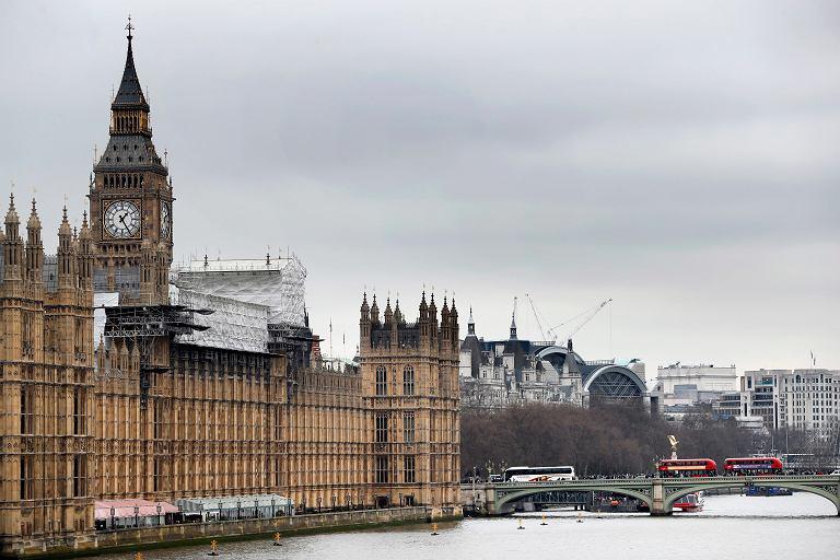 Londyn, siedziba brytyjskiego parlamentu