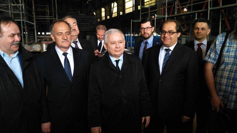 Jarosław Kaczyński w Szczecinie