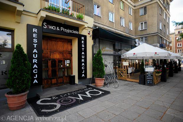 Restauracja Sowa i Przyjaciele w Warszawie, w której podsłuchiwano rozmowy polityków