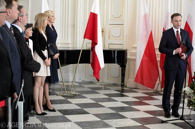 Prezydent elekt Andrzej Duda w Wilanowie