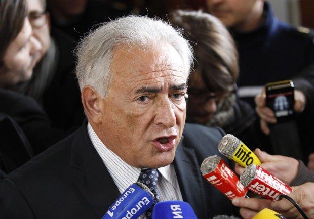 Były szef Międzynarodowego Funduszu Walutowego Dominique Strauss-Kahn