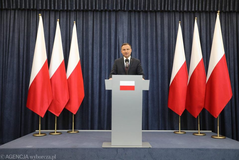 Andrzej Duda zgłosił własny projekt ustawy o Krajowej Radzie Sądownictwa.