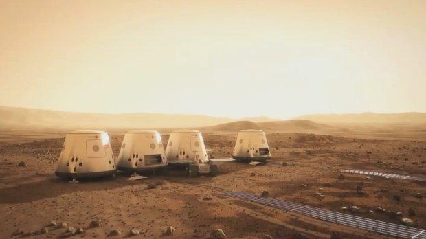 Plany bazy przygotowanej przez orhanizację Mars One