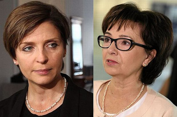 Joanna Mucha, Elżbieta Witek
