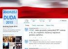 Prawicowy bloger prowadził twitterowe kampanijne konto Andrzeja Dudy