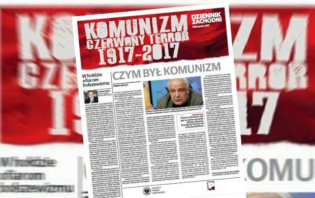Broszura o rocznicy rewolucji październikowej