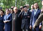 Ewa Kopacz wygwizdana na Powązkach. Burza oklasków dla Andrzeja Dudy