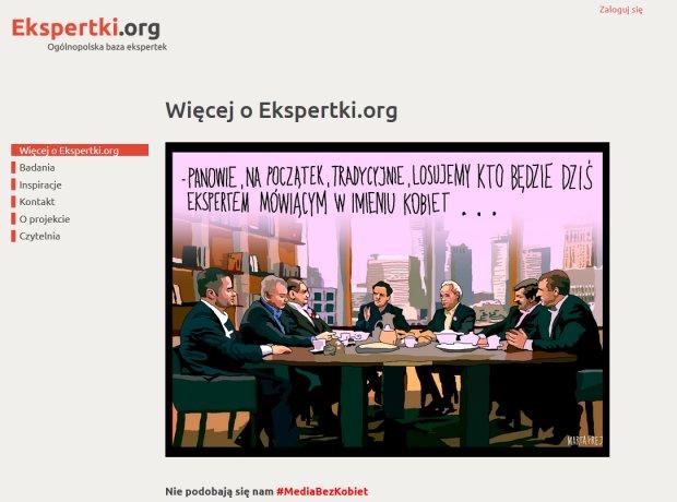 Fragment strony internetowej
