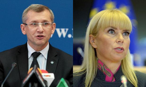 Krzysztof Kwiatkowski i Elżbieta Bieńkowska