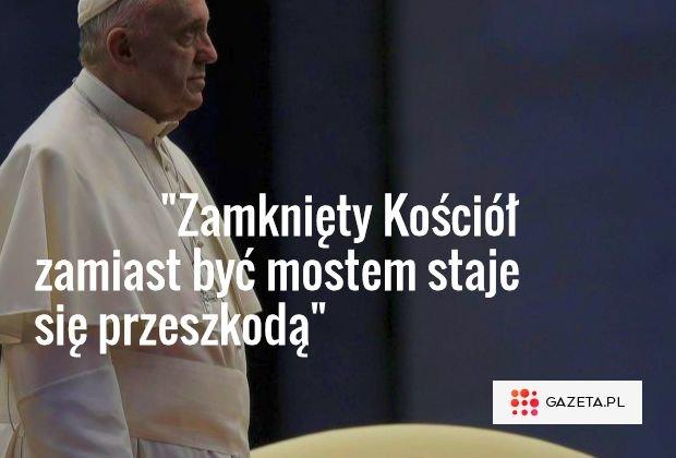 Papież Franciszek na otwarciu obrad synodu
