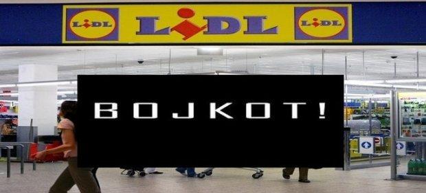 Znalezione obrazy dla zapytania bojkot nie kupuj w lidlu