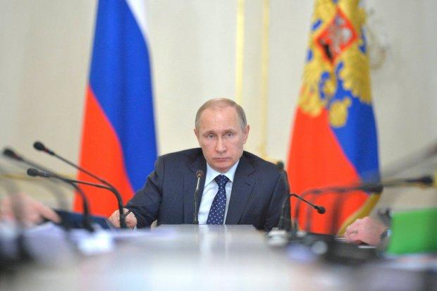 Spotkanie Władimira Putina z parlamentarzystami