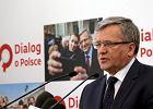 """Wybory prezydenckie 2015. Prezydent Komorowski zapowiedział, że """"bardzo szybko"""" podpisze konwencję antyprzemocową"""