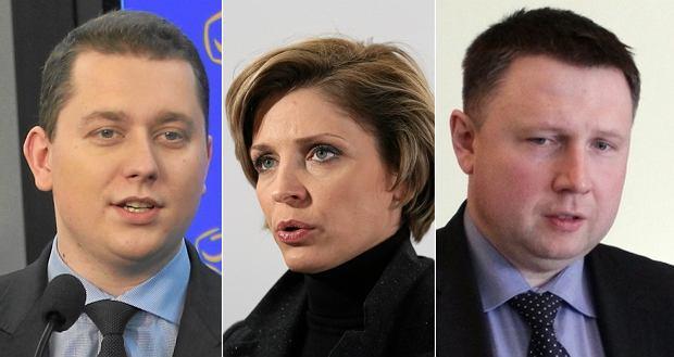Cezary Tomczyk, Joanna Mucha, Marciń Kierwiński