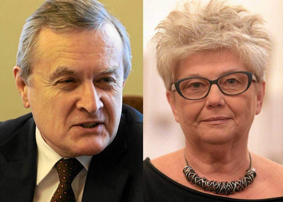 Piotr Gliński, Krystyna Duniec