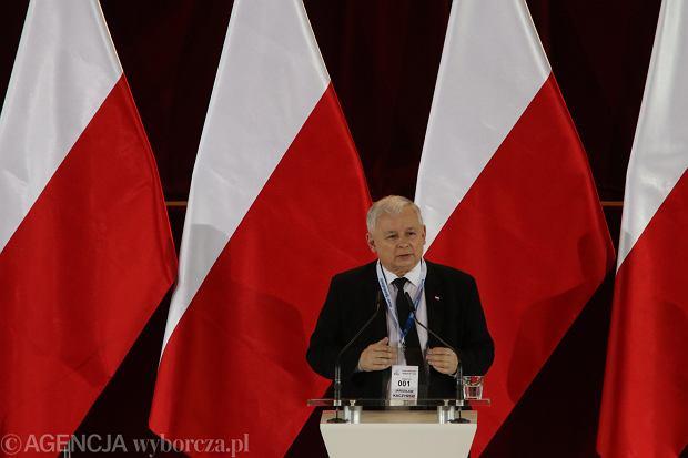 Wystąpienie Jarosława Kaczyńskiego przed warszawskimi działaczami PiS