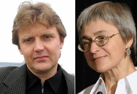 Aleksander Liwtiniwneko i Anna Politkowska