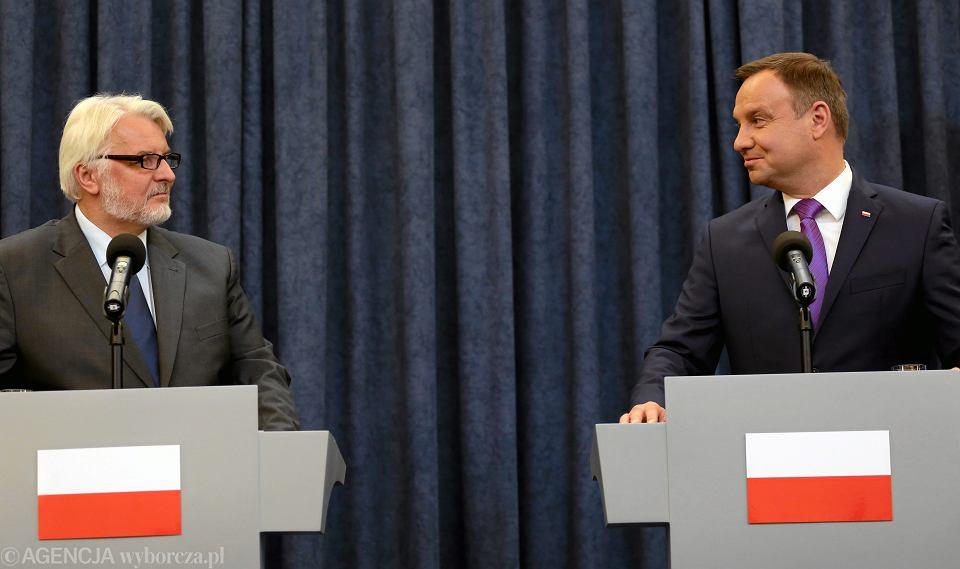 Konflikt między prezydentem a MSZ