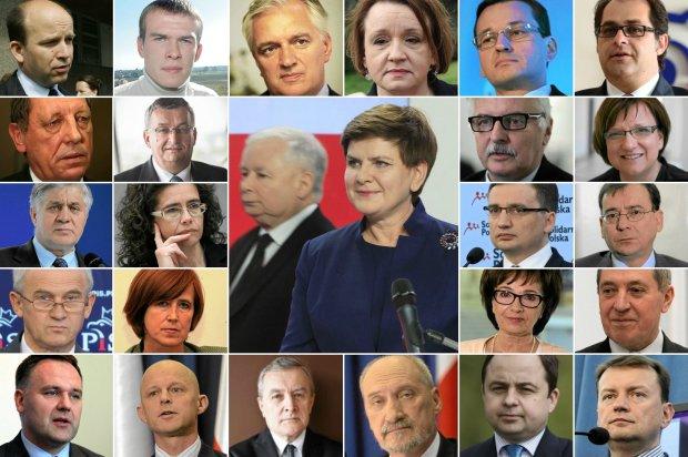 Skład rządu PiS