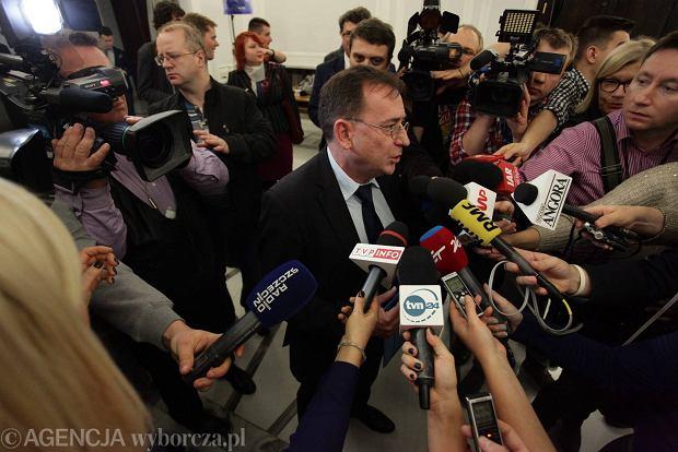 Po wyroku, ale jeszcze przed wyborczym zwycięstwem PiS, Mariusz Kamiński mówił w RMF, że