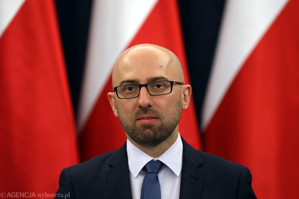 Nowy rzecznik prezydenta RP Krzysztof Łapinski