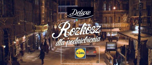 Świąteczna reklama sieci sklepów Lidl