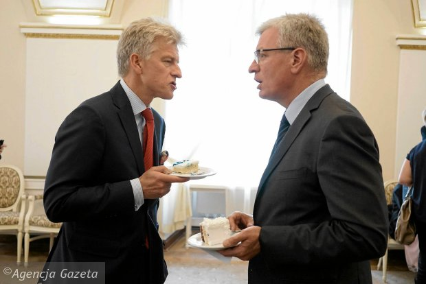 Ryszard Grobelny i Jacek Jaśkowiak