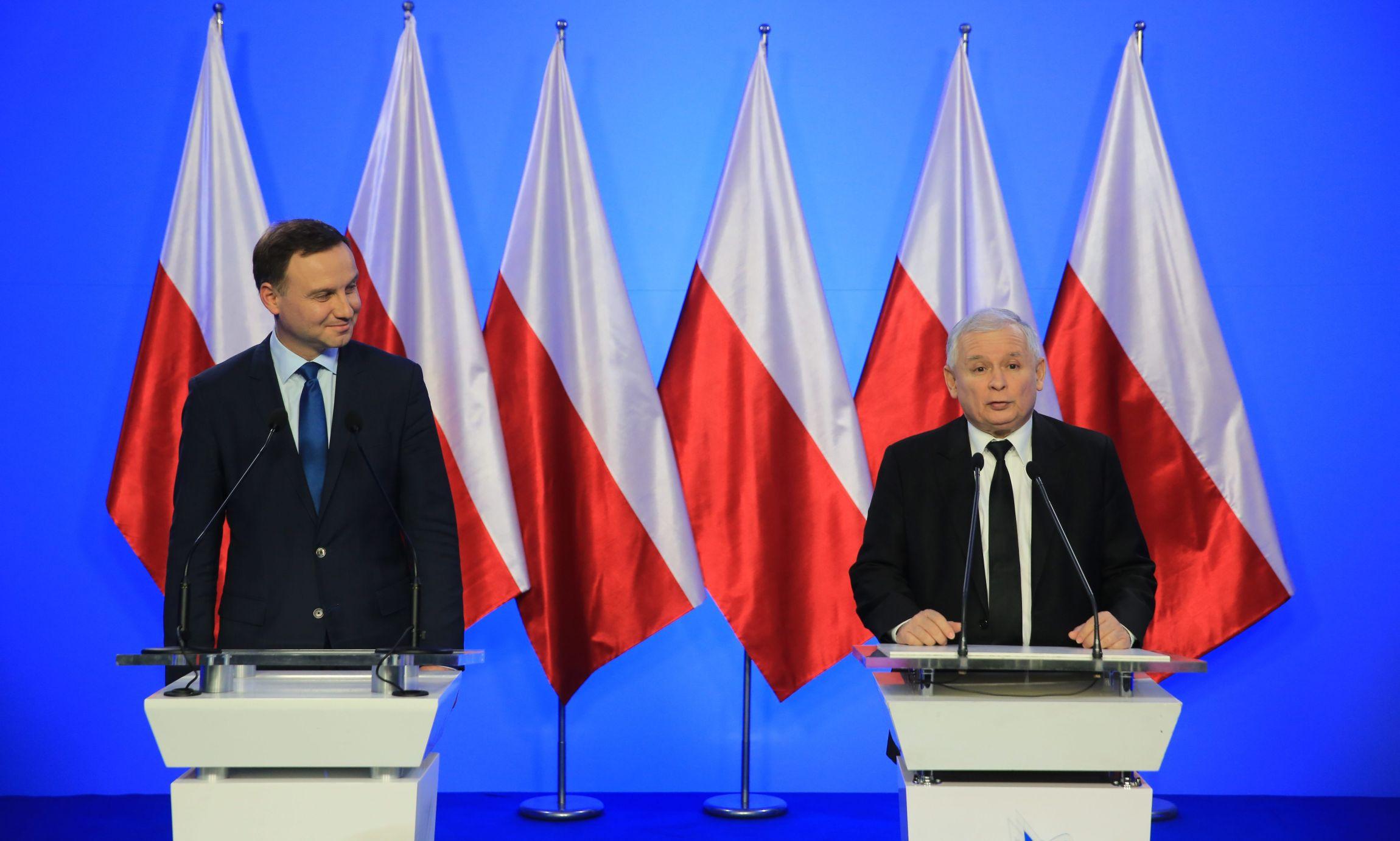 Andrzej Duda i Jarosław Kaczyński (fot. Jacek Marczewski)
