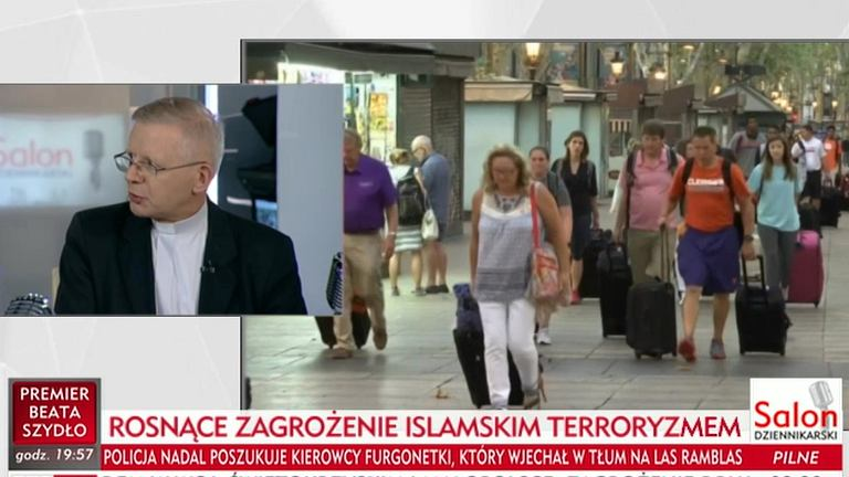 Ks. Henryk Zieliński w TVP Info