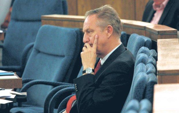 Krzysztof Piesiewicz podczas posiedzenia Senatu w lipcu 2009 r.