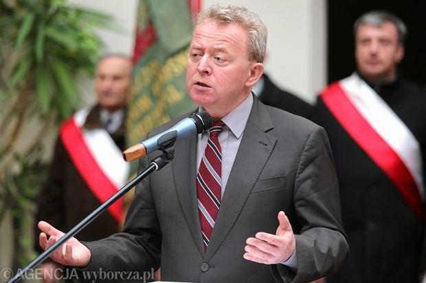 Europoseł PiS Janusz Wojciechowski
