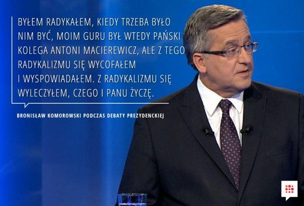 Cytaty z debaty prezydenckiej