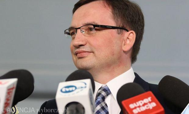 Zbigniew Ziobro triumfuje