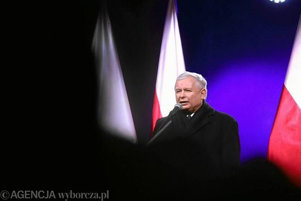 Jarosław Kaczyński przekonuje, że wyniki wyborów samorządowych sfałszowano w 10 proc. komisji