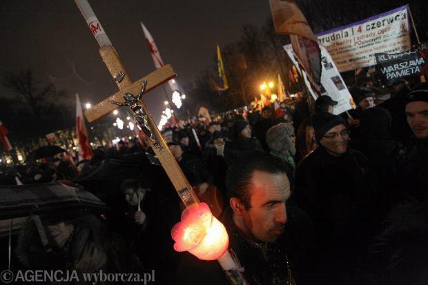 Zeszłoroczny marsz w rocznicę wprowadzenia stanu wojennego