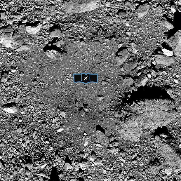 'Nightingale' - the probe landing site
