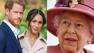 What did Meghan Markle and Prince Harry give to Queen Elizabeth II?