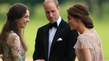 Rose Hunbury, Prince William and Duchess Kate