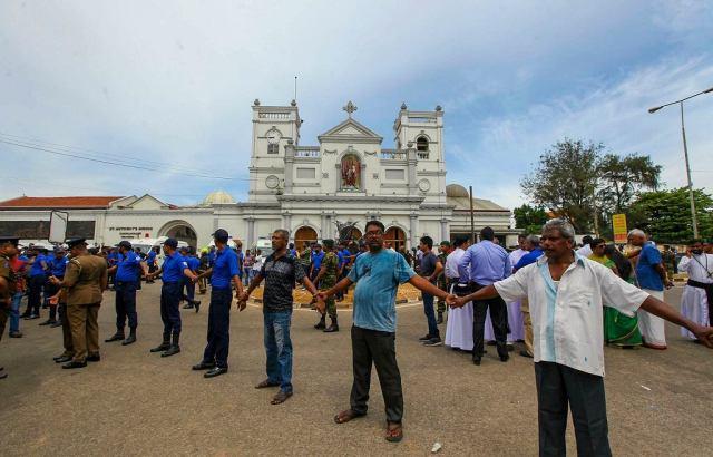 Zamachy na Sri Lance. Kaplica św. Antoniego