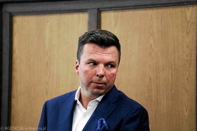 21.07.2016, Warszawa, Sąd Okręgowy, Marek Falenta podczas rozprawy.