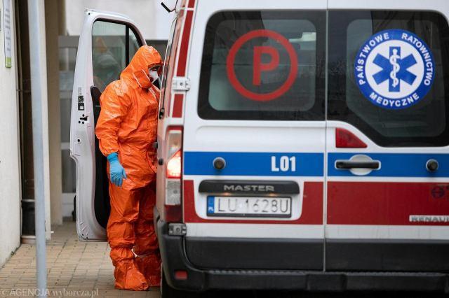 Oddział zakaźny szpitala przy ul. Staszica w Lublinie