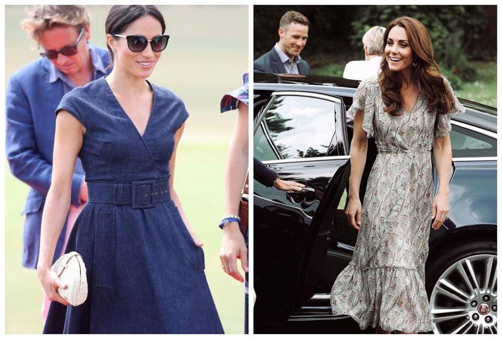 Women's dresses Kate Middleton Megan Markle