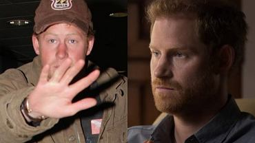 Prince Harry smelled foul in the past
