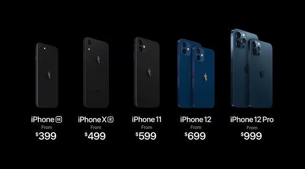 iPhone 12, 12 Mini, 12 Pro and 12 Pro Max presented