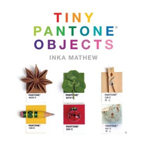 Tiny PANTONE Objects is the perfect exploration of PANTONE colours in the everyday world. Inka Mathew has spent years photographing miniature objects that perfectly match the hues of the PANTONE rainbow. In this book, inspired by her Tiny PMS Match Tumblr, Mathew takes readers on a visual journey by pairing these objects—some found in nature and some man-made—with their exact PANTONE colour, giving life and depth to the PANTONE colours we've all come to know. With objects that range from fruit to candy to toys to replicas of famous landmarks—and even more whimsical items such as a tiny rubber chicken—Tiny PANTONE Objects is a treasure trove of the colours that make up our lives.