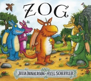 Zog is the keenest dragon in school. He's also the most accident-prone. Luckily, a mysterious little girl always comes by and patches up his bumps and bruises. But will she be able to help him with his toughest test: capturing a princess? A wonderfully funny new story from the creators of The Gruffalo and Stick Man.