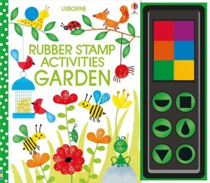 Decorate the garden scenes with spiky hedgehogs, crawling caterpillars, busy bees and lots more in this rubber stamping activity book, bursting with fun ideas. The book comes with six colourful ink pads and circle, triangle, square and petal shaped rubber stamps. There are lots of hints and tips and the book has a spiral binding so that it lies flat.