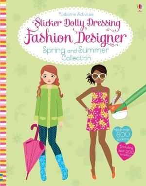Dress the dolls in tropical beachwear, vintage florals and nautical style, and design outfits for a spring wedding, roller skating, summer in Paris and more in this bumper activity book for young fashion lovers. With over 700 stickers, including over 300 blank stickers to customise, plus hints and tips for colour combinations and patterns.