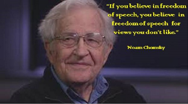 If you believe in freedom